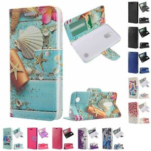 For-LG-Aristo-LV3-MS210-Wallet-Case-Phone-Cover-With-ID-Card-Pocket-Slots