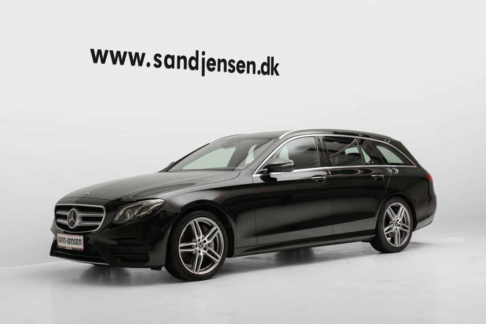 Mercedes E350 d 3,0 AMG Line stc. aut. 5d - 614.900 kr.