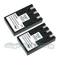 Two Batteries For Canon Nb-1lh Nb-1l S100 S110 S230 S330 S400 S410 Battery X 2