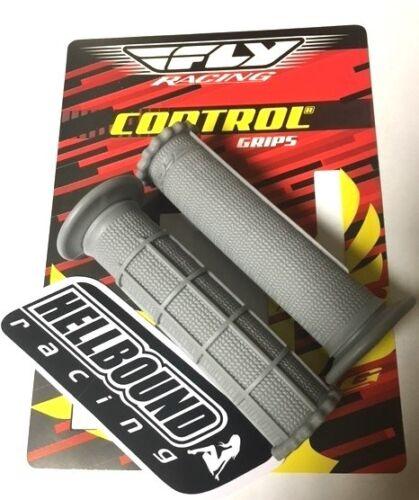 New FLY Grey SOFT atv grips Yamaha Banshee 350 YFZ350 Blaster 200 YFS200