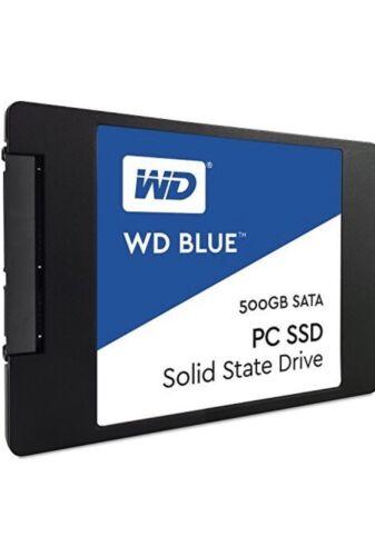 WDS500G1B0A WD Blue SATA 6Gb//s 2.5 Inch 500GB Internal SSD Solid State Drive