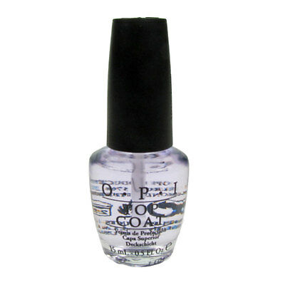 100% Authentic OPI Natural Top coat 15 mL / 0.5 oz oz+ FREE SHIPPING