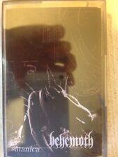 "BEHEMOTH ""Satanica"" rare sealed tape cassette MC belphegor mayhem watain metal"