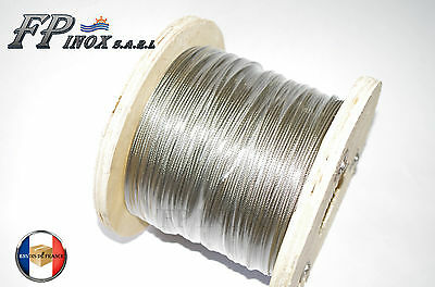 Ridoir M10 Chape Terminaison Chape 195 mm inox 316 A4