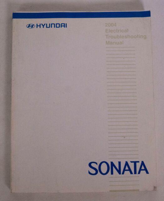 2004 Hyundai Sonata Electrical Wiring Diagram