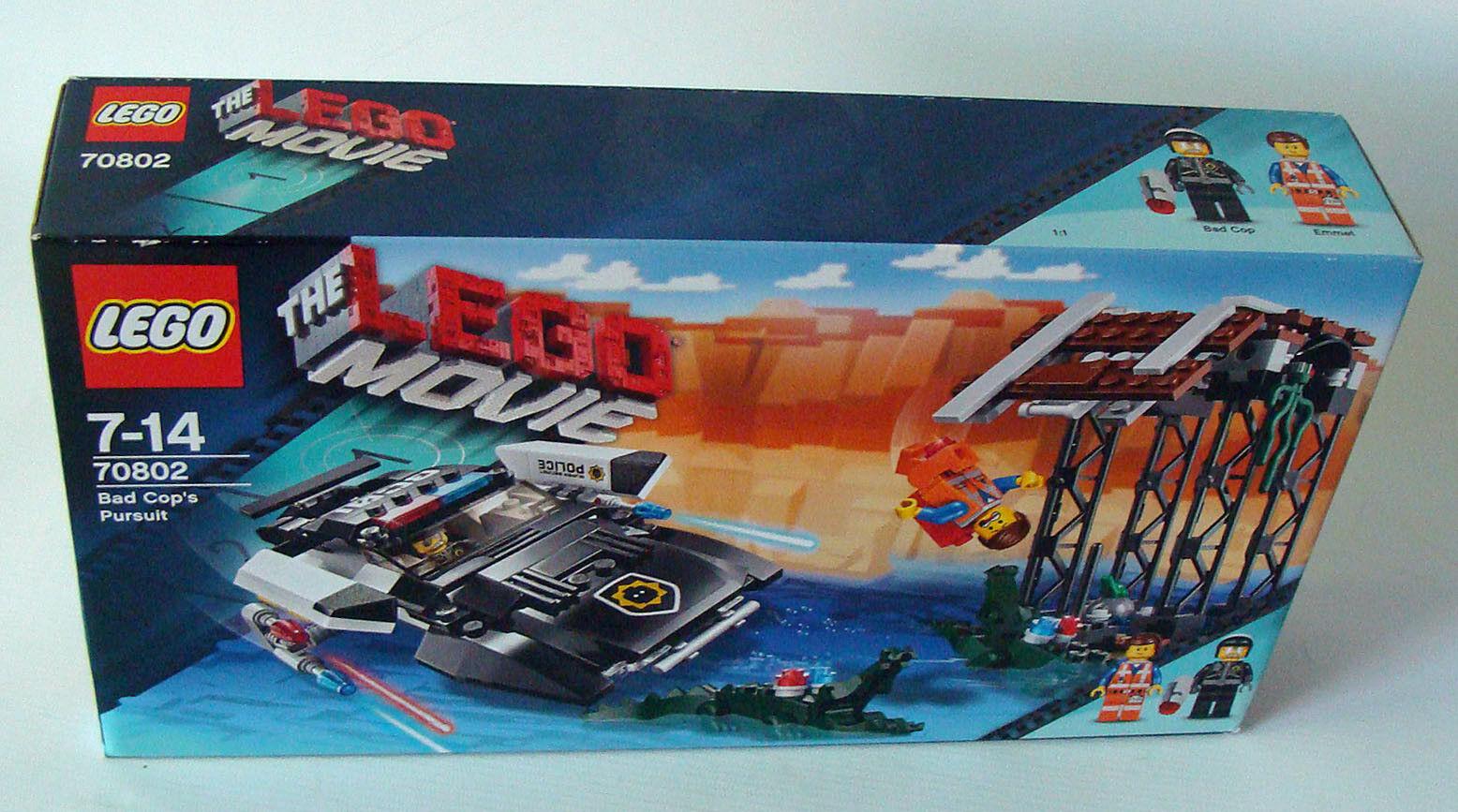 LEGO ® Movie 70802-Bad flics course poursuite  314 pièces 7-14 ans Neuf nouveau  gros pas cher et de haute qualité