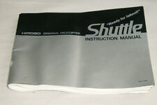 1985 Hirobo Shuttle Nitro RC Helicopter Instructions Manual Guide Book Japan