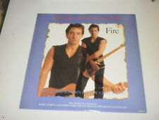 "BRUCE SPRINGSTEEN & THE E STREET BAND - FIRE - 12"" MAXI SINGLE CBS RECORDS 1987"