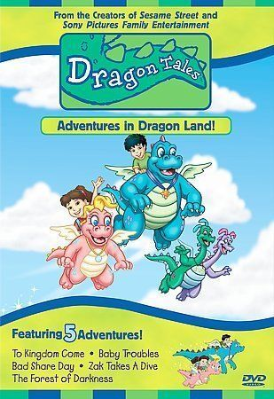 Dragon Tales Adventures In Dragon Land Dvd 2000 Closed Captioned For Sale Online Ebay