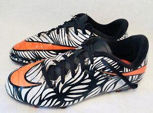mieux aimé 49939 2d388 Details about Nike Hypervenom Neymar Cleats Boys Shoes US 2 Y UK 1.5 Black  White Youth