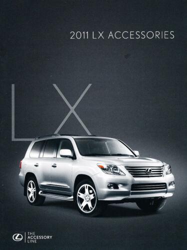 2011 Lexus LX LX570 Dealer Accessories Sales Brochure Catalog