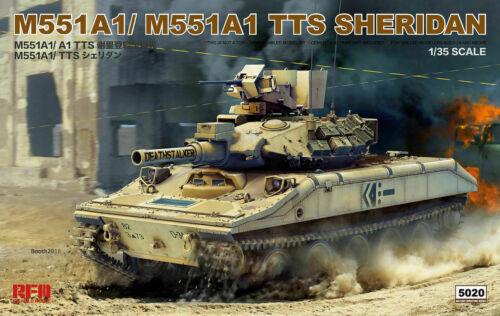 NEU !! Rye Field Model RFM 5020 1//35 M551A1// M551A1 TTS Sheridan
