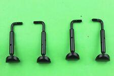 4 sets Alloy Viola Chin rest Clamp Screw,Viola accessories