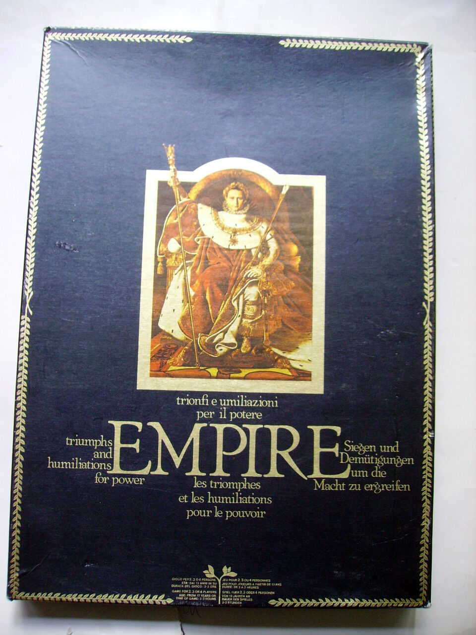 Jeu EMPIRE - INTERNATIONAL TEAM