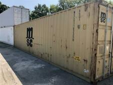Used 40 High Cube Steel Storage Container Shipping Cargo Conex Seabox Cleveland