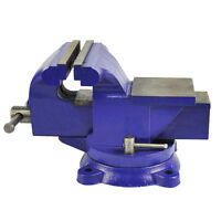 """Bench Vise Vice 125mm 5 Inch 5"""" Jaw Clamp Swivel Base for Workbench Table Desk"""