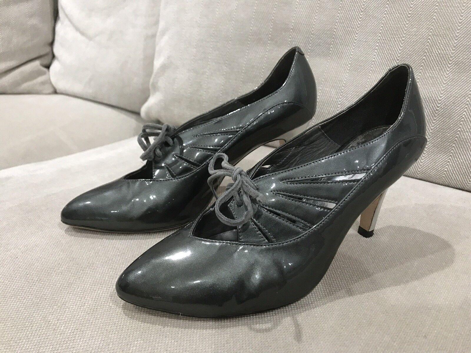 Super Comfy Women's Sachi Pumps Patent Leather Shoes Heels Pumps Sachi Ladies Size 36.5 89b628