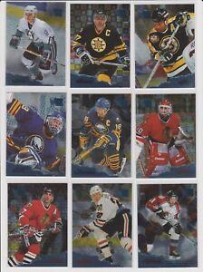 1995-96-Metal-Hockey-U-pick-NM-you-pick-Stars-RC-Rookie-HOF-Fleer