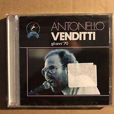 ANTONELLO VENDITTI • Gli Anni 70 • CD ALBUM • Nuovo Sigillato