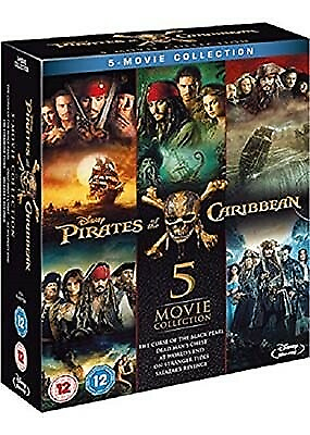 Pirates of the Caribbean 5-Movie Collection (Blu-,…