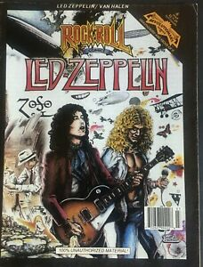 Led Zeppelin/Van Halen Rock N Roll comic book (VG)