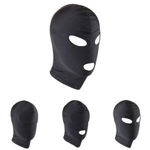 Unisex-Black-Sex-Sponge-Balaclava-Full-Head-Hood-Ski-Face-Mask-Party-Cosplay