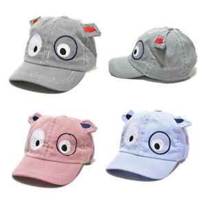 ea9cbbe72dd12 Details about Kids Boys Girls Cute Cartoon Dog Beret Hat Sun Hat Baseball  Cap To 1-3 Years Old