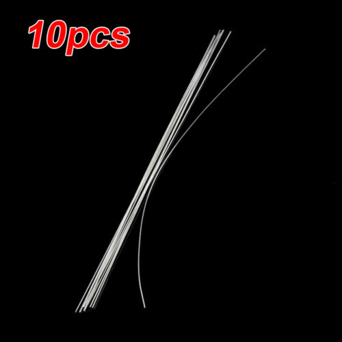 Set Welding rods Accessories Aluminum 10pcs Silver 2mm 500mm Wire brazing