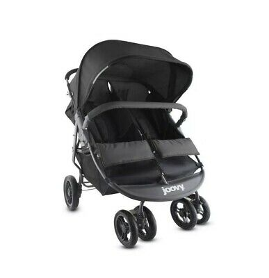 Joovy ScooterX2 Double Stroller, Black Strong and Clean ...