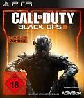 Call Of Duty: Black Ops III (Sony PlayStation 3, 2015, DVD-Box)