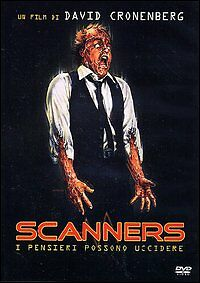SCANNERS dvd nuovo