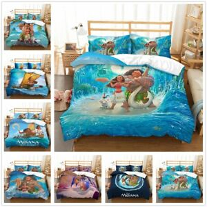 3D-Disney-Moana-M-ui-Anime-Bedding-Set-Duvet-Cover-Pillowcase-Quilt-Cover-Set