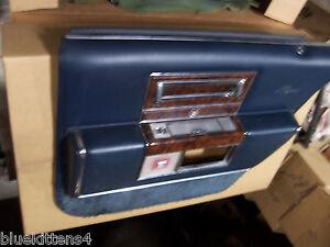 1991 Cadillac Brougham Right Rear Blue Door Panel Oem Used Fleetwood Tear Armre Ebay