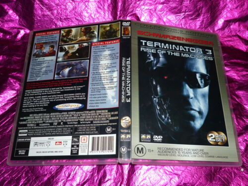 1 of 1 - TERMINATOR 3 RISE OF THE MACHINES : (2 DISC COLLECTORS EDITION) (DVD, M15+)