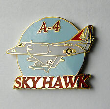 US NAVY USN USMC DOUGLAS SKYHAWK SKY HAWK A-4 ATTACK AIRCRAFT LAPEL PIN BADGE 1""