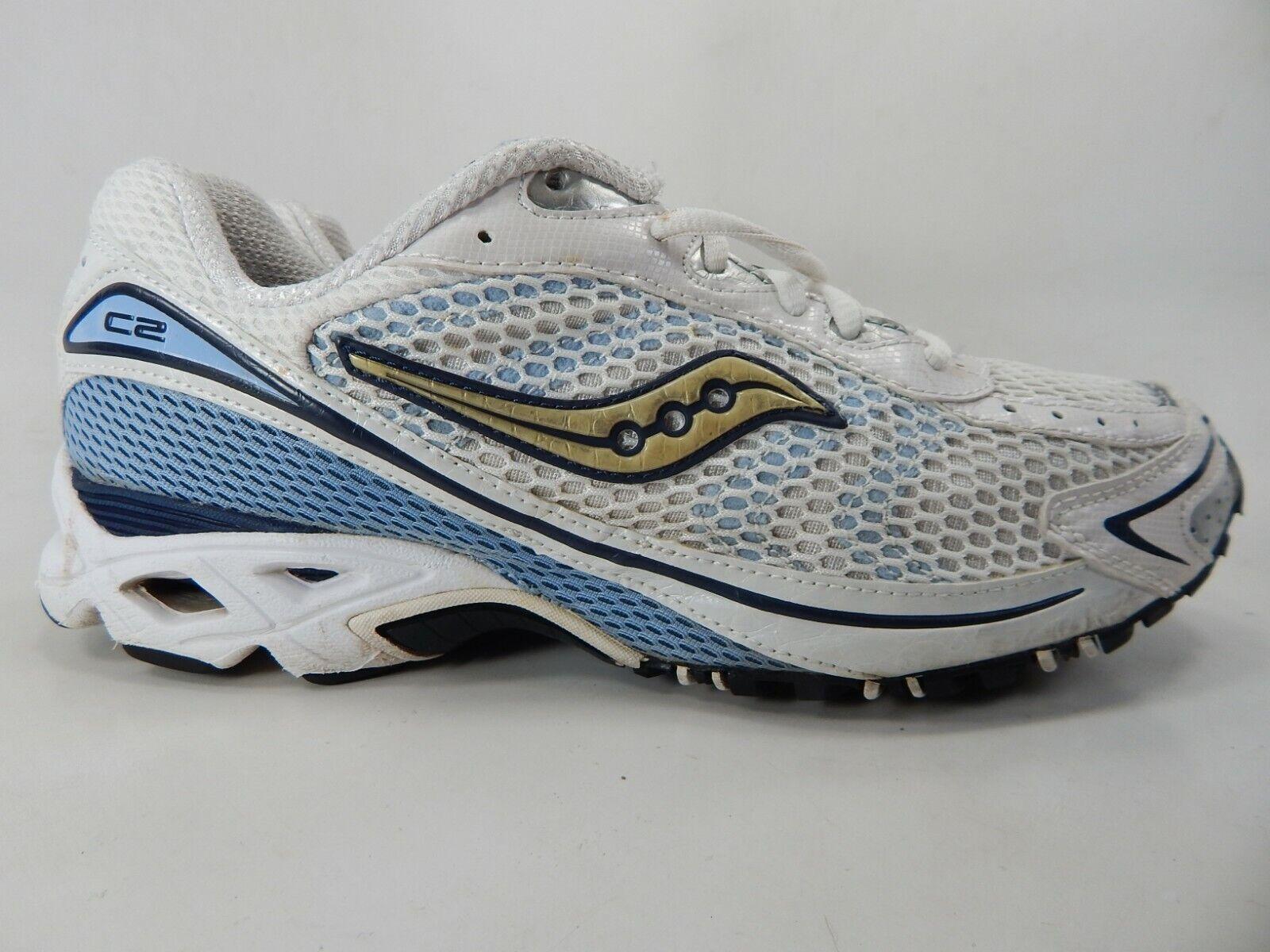 Saucony Grid C2 Flash Size 10 M (B) EU 42 Women's Running shoes White 15032-2