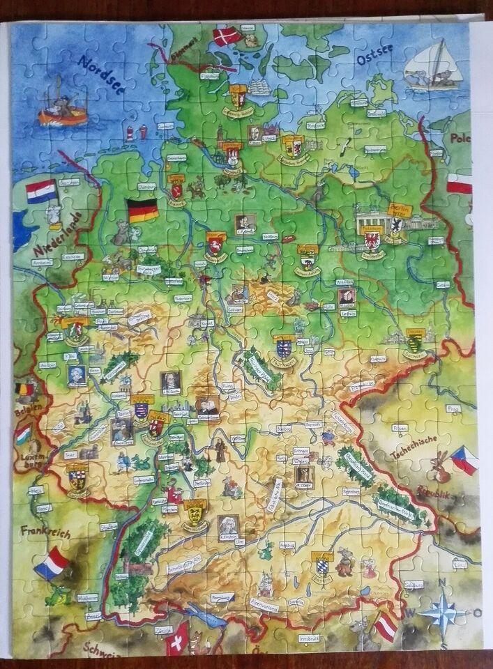 SOLGT - Tyskland, 200 brikker, puslespil