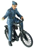 W Britain 25024 Royal Air Force Ground Crewman On Bicycle Ww Ii Toy Soldier on sale