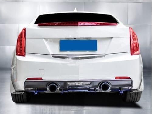 ABS Rear Bumper Diffuser Lip Spoiler Factory For 2014-18 Cadillac ATS ATS-L 2.0T