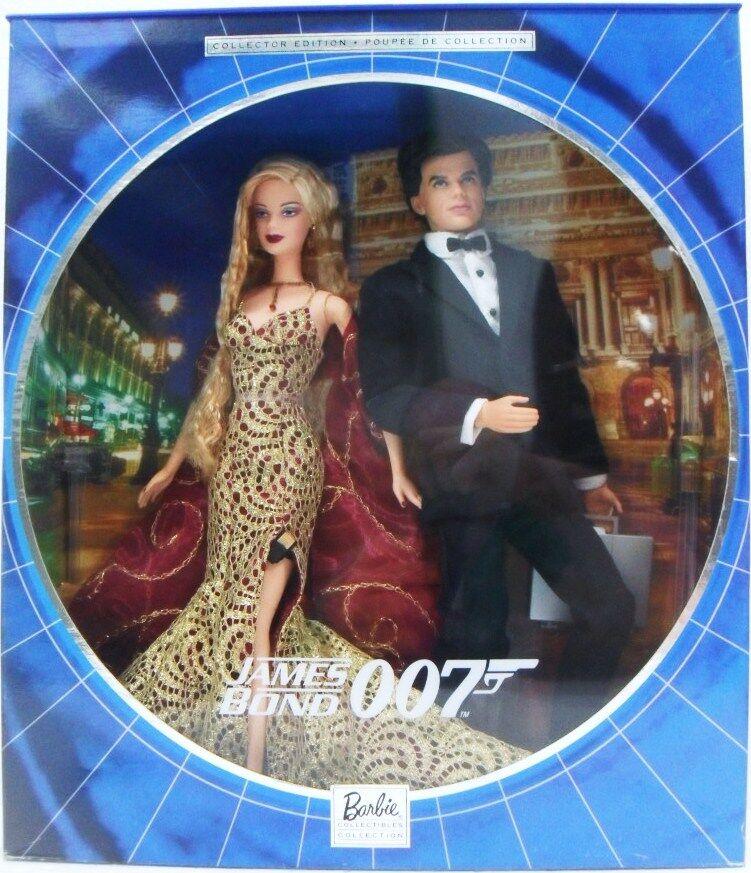 MATTEL  B0150 BARBIE -  JAMES BOND 007   a buon mercato