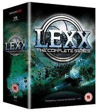 Lexx . The Complete Series . Season 1 2 3 4 . The Dark Zone . 19 DVD . NEU . OVP