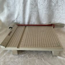 Boston 2612 Paper Cutter 12 Trimmer Withside Locking Blade Handle Amp Instructions