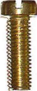 25-Zylinderschrauben-Messing-M-2-0