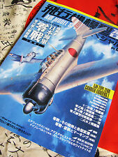 IJN MITSUBISHI A6M ZERO CARRIER FIGHTERS NEW Model Art 893 A6M1 to A6M2-N