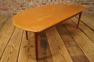 Vintage 60s couchtisch tisch danish modern design teak for Tisch design danemark