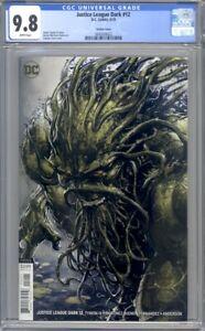 Justice League Dark #12  Clayton Crain Swamp Thing Variant  1st Print CGC 9.8