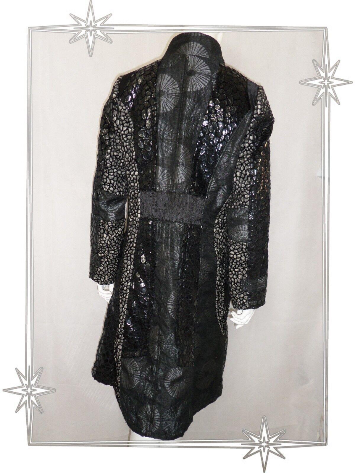G - Superbe Manteau Fantaisie black Les Filles Filles Filles des Sables size  42 f0bc82