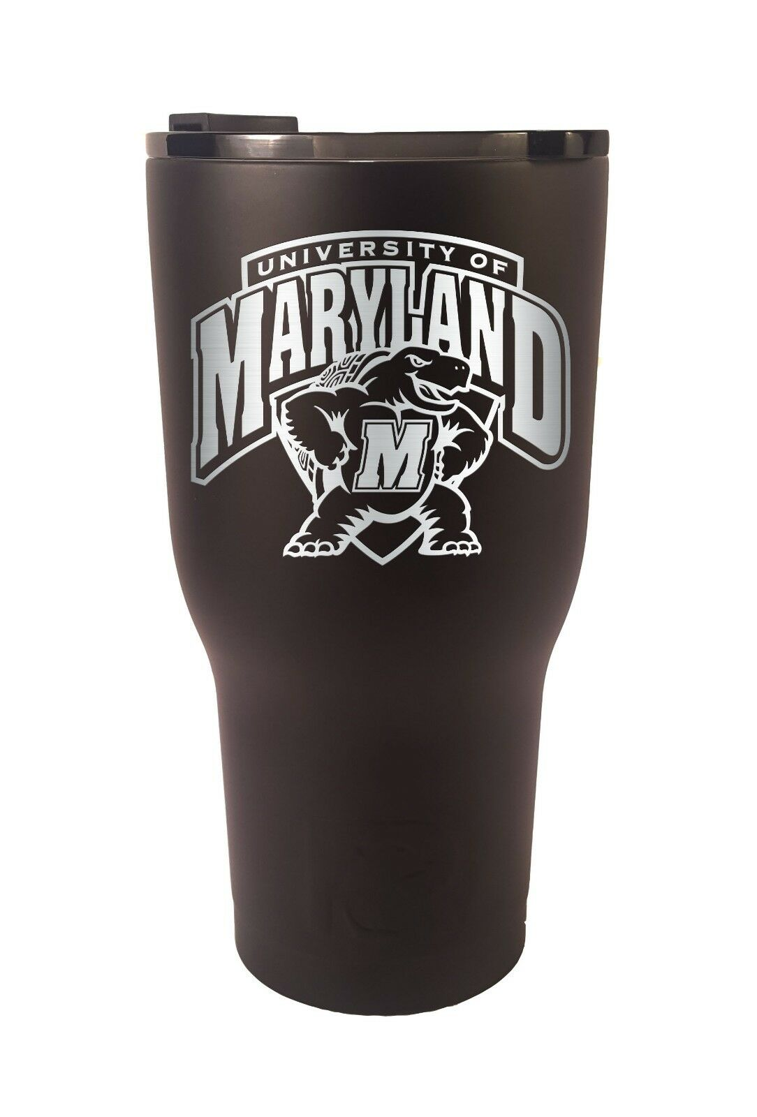 Maryland Terrapins RTIC Laser Engraved 20 or 30 oz. Stainless Steel Tumbler