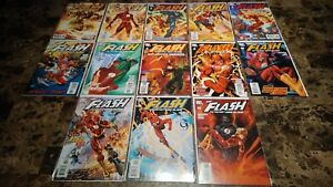 Flash-Fastest-Man-Alive-1-13-NM-M-to-NM-9-8-to-9-4-Complete-Series-2006