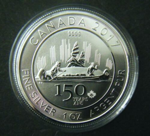 2017 Canada $5 150th Special Edition Voyageur Silver Bullion Coin